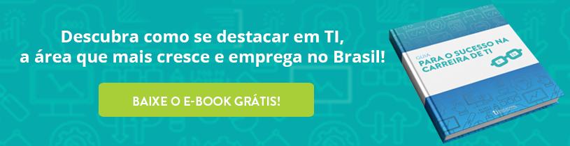 """E-book """"Guia para o sucesso na carreira de TI"""""""